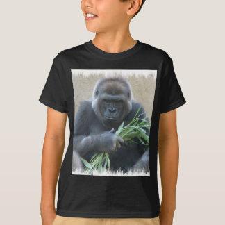 Le T-shirt des hommes de couleur de gorille de