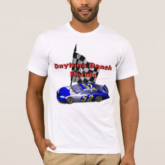Le T-shirt des hommes de coureur de speed-way de