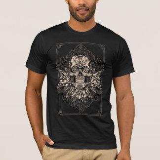 Le T-shirt des hommes de crâne de sucre