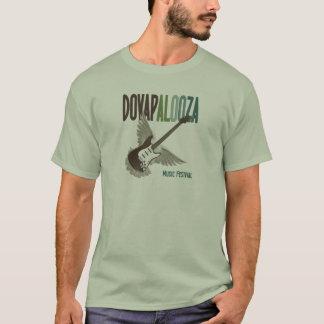 Le T-shirt des hommes de Dovapalooza cinq