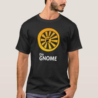 Le T-shirt des hommes de GNOME de diamètre