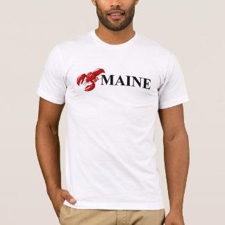 Le T-shirt des hommes de homard du Maine