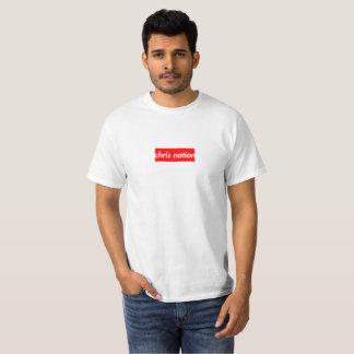 Le T-shirt des hommes de logo de boîte de nation