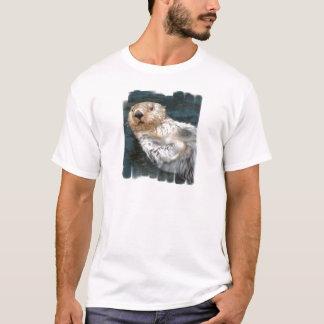 Le T-shirt des hommes de loutre de mer