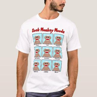 Le T-shirt des hommes de modes de singe de