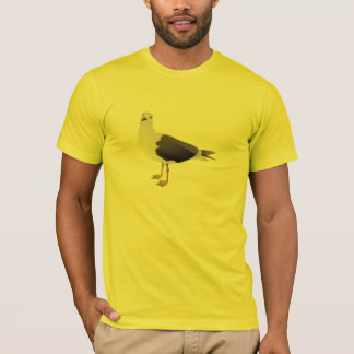 Le T-shirt des hommes de mouette