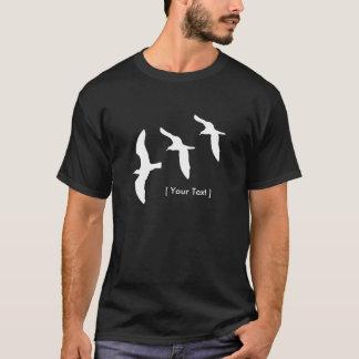 Le T-shirt des hommes de mouettes