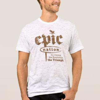 """Le T-shirt des hommes """"de nation de créature"""""""