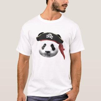 Le T-shirt des hommes de panda de pirate