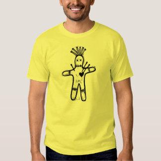 Le T-shirt des hommes de poupée de vaudou