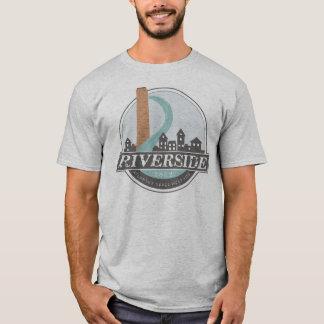 Le T-shirt des hommes de #riversideatl (gris)