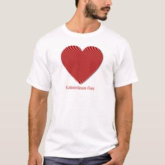 Le T-shirt des hommes de Saint-Valentin