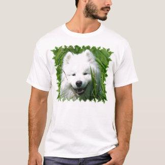 Le T-shirt des hommes de Samoyed