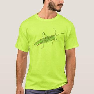Le T-shirt des hommes de sauterelle