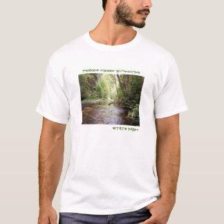 Le T-shirt des hommes de séquoias de Prairie Creek