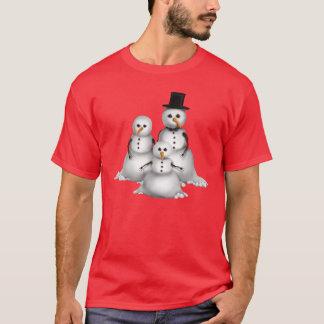 Le T-shirt des hommes de vacances de bonhomme de
