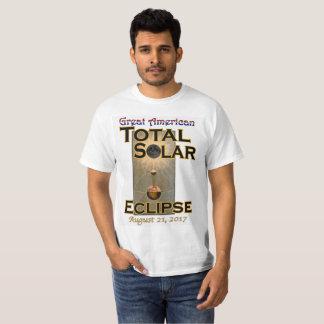 Le T-shirt des hommes d'éclipse