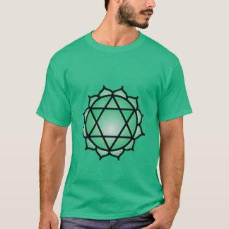 Le T-shirt des hommes d'équilibre de Chakra de