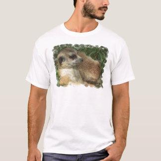 Le T-shirt des hommes d'habitat de Meerkat