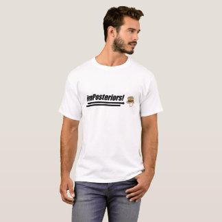Le T-shirt des hommes d'Imposteriors - logo de