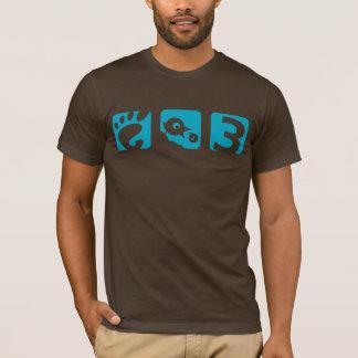 Le T-shirt des hommes d'oiseau du GNOME 3