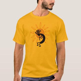 Le T-shirt des hommes d'or de Kokopelli