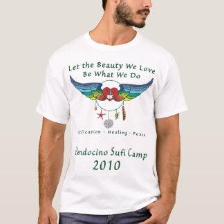 Le T-shirt des hommes du camp 2010 de Mendocino