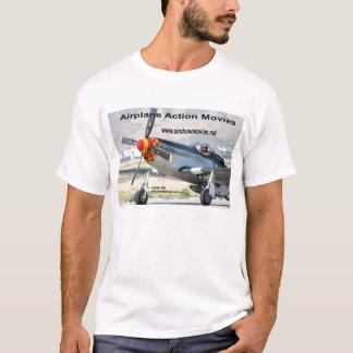 Le T-shirt des hommes du mustang P-51