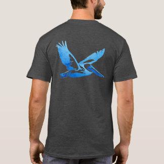 Le T-shirt des hommes externes de banques - pièce