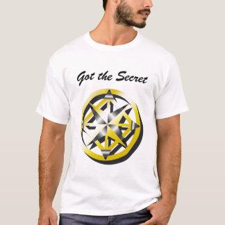 Le T-shirt des hommes intérieurs de boussole