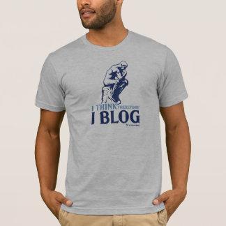Le T-shirt des hommes (je pense, par conséquent je