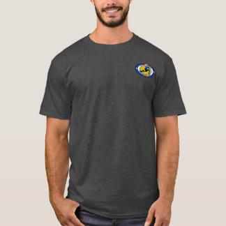 Le T-shirt des hommes/le club de patinage vitesse