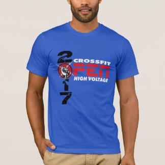 Le T-shirt des hommes ouverts de HT 2017 de