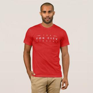 Le T-shirt des hommes (rouge)