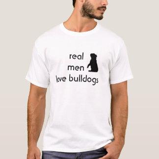 Le T-shirt des vrais d'hommes d'amour hommes de