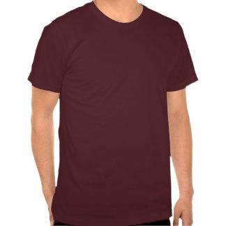 Le T-shirt d'hommes de sacs d'argent