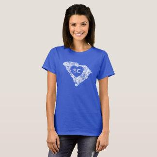 Le T-shirt d'I d'amour de la Caroline du Sud des