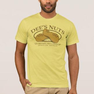 Le T-shirt drôle Nuts de Dee