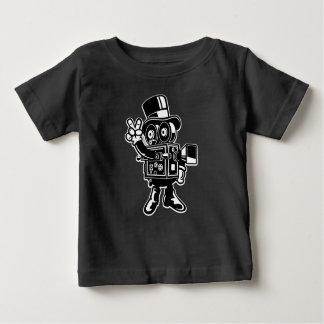 Le T-shirt du bébé classique de cameraman
