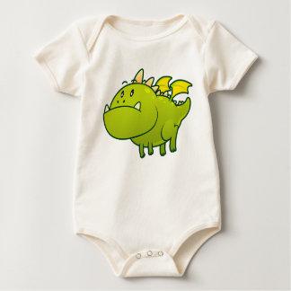 Le T-shirt du bébé potelé de dragon