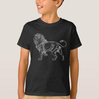 Le T-shirt du garçon de lion