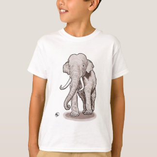 """Le T-shirt du garçon d'éléphant de """"liberté"""""""