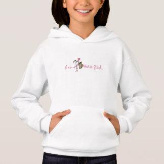 """Le T-shirt d'une fille du cheval de la fille """"je"""
