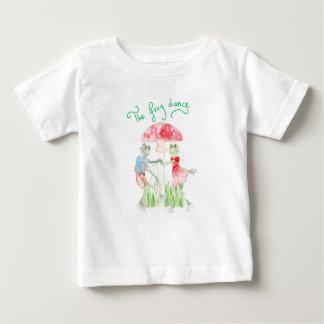 """""""Le T-shirt fin du Jersey de bébé de danse de"""