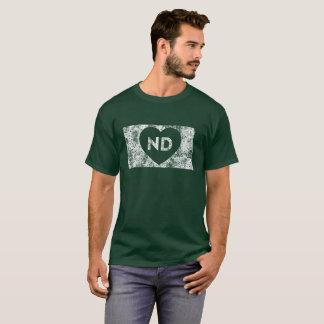 Le T-shirt foncé de base des hommes