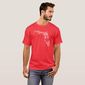 Le T-shirt foncé de base d'I d'amour de la Floride