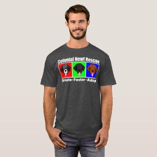 Le T-shirt foncé des hommes