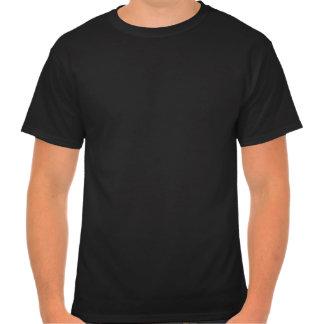 Le T-shirt foncé des hommes centraux de Psych
