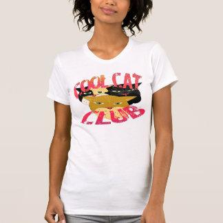 Le T-shirt frais de club de chat