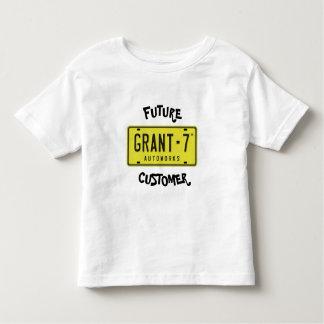 Le T-shirt Grant 7 de l'enfant en bas âge